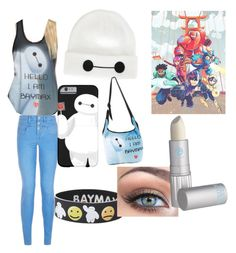 """""""big hero 6"""" by rubybaby1010 ❤ liked on Polyvore featuring Disney, New Look, Victoria's Secret and Lipstick Queen"""