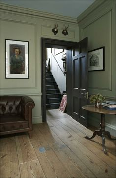 Colour Study: Farrow and Ball French Gray in interiors