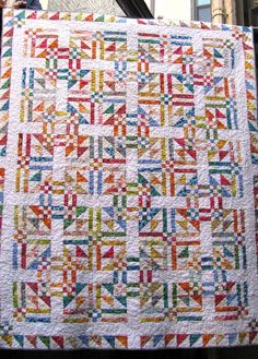 Another beautiful scrappy quilt
