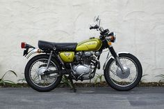 My old '72 Honda CL350 Scrambler (or she looked just like this). Miss.