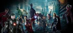 Avengers meets Guardians of The Galaxy.