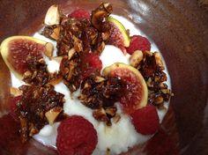 Simple Desserts: Yogurt, Fruit and Quick Nut Brittle