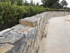 Eyre can be laid dry stacked with tight joints or grouted. Dry stacked joints should be no greater than 3mm therefore the stone needs to be modified on site by stonemasons. When selecting Eyre we try to go for natural shapes and tones in order to replicate and reflect on a natural environment.  Up to 150mm high, 550mm wide & 30mm to 40mm thick.  Corners – Up to 350mm high and 220mm long. Stone type – Schist. Finish – Split face with a sawn back. Stone Cladding, Wall Cladding, Natural Stone Wall, Stone Supplier, Natural Shapes, Cool Walls, Environment, Type, Landscape