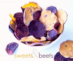 The Knoxville Holts: sweets & beets {gf,v} sweet potato and beet chips- a fav of theirs