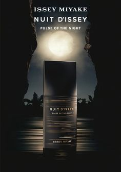 Nuit d'Issey Pulse Of The Night Issey Miyake Colonia - una nuevo fragancia para Hombres 2019 Issey Miyake, New Fragrances, Perfume Fragrance, Cosmetics & Perfume, Perfume Collection, Cosmetic Packaging, Bottle Design, Ad Design, Beauty Make Up
