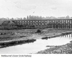 black bridge again Melbourne Suburbs, Historic Houses, Melbourne Victoria, Vr, Trains, Toms, Bridge, Victorian, Australia