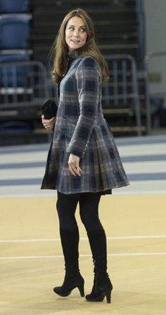 Catherine known as the Countess of Strathearn when north of the border, the duchess often pays tribute to the people of Scotland by wearing a flash of tartan.