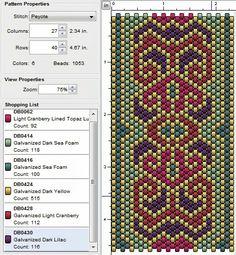 Beading: Peyote Stitch Pattern 24