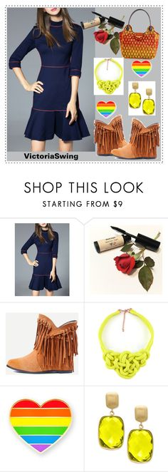 """""""VICTORIA SWING #13"""" by nizaba-haskic ❤ liked on Polyvore featuring Effy Jewelry"""