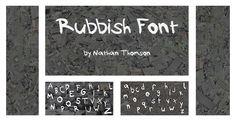 Rubbish - Free Font