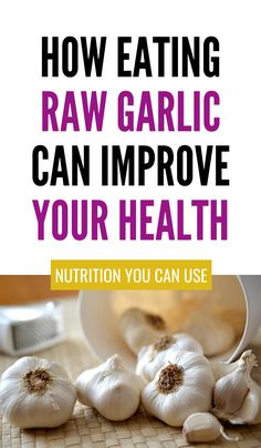 Raw Garlic: 5-Proven Health Benefits