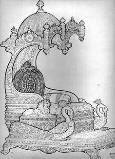 Architectural Drawing Patterns Silver Mayurasan We manufacture Outline Drawings, Art Drawings, Sheet Metal Art, Temple Drawing, Pooja Room Design, Wood Carving Designs, Tanjore Painting, Indian Folk Art, Beautiful Rangoli Designs