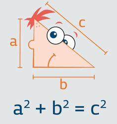 Phineas 'n Pythagoras Tee Shirt concept http://atrium.threadless.com/phineasandferb/subs/#/submission/-669/