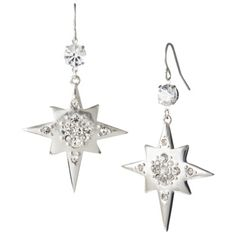Kate Young For Target® Star Earrings - Silver