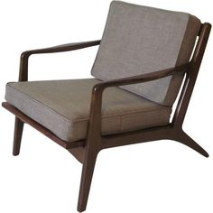 Folke Ohlsson Danish Lounge Chair 1