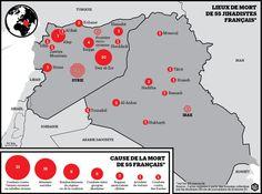 Des français morts en Irak et en Syrie (parution le 22 mars 2016) Libération