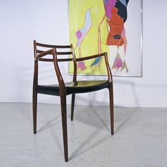 Niels Moller #62 rosewood chair. www.midcenturyhome.co.uk