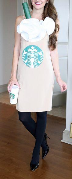Starbucks Frappuccino Halloween costume