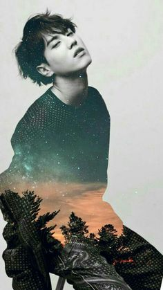 Kim Yugyeom. He's a beautiful forest and a sky. -one of my irl friends 2k17