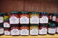 Pick up great jams, soup mixes, bread & scone mixes, herbs, spices and more!