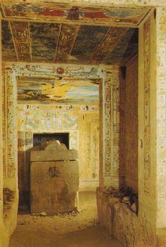 The tomb of queen Tausert (Tawosret) and Setnakht (Sethnakhte) (KV 14), Egypt