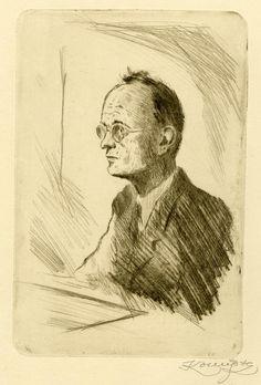 Jan Konůpek - Portrét Antonína Grimma ...