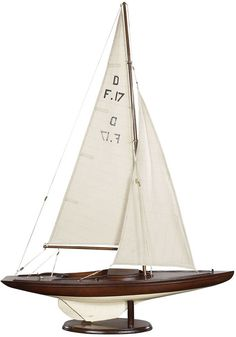Dragon Olympic Sail Racer, French Finish Sailboat & Yacht Model Ships This classic Olympic racer from the is still popular today. Beautiful mahogany planked hull with a French finish and cotton sails and lines. Built from Sailboat Decor, Sailboat Yacht, Sailboat Racing, Sail Racing, Wooden Sailboat, Dragon Classes, Model Sailboats, Ranger, Boat Plans
