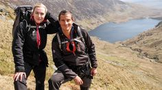 Watch Kate Winslet re-enact 'Titanic' — on a cliff! — with Bear Grylls