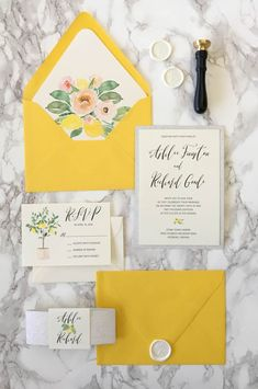 We are loving these Yellow and Silver Glitter Wedding Invitations! The intricate floral design really complements the silver glitter. Yellow Wedding Yellow and Silver Wedding Spring Wedding Elegant Classy Unique Colorful Wedding Invitations, Glitter Wedding Invitations, Elegant Invitations, Floral Invitation, Invitation Design, Wedding Stationery, Wedding Colors, Floral Wedding, Invitation Suite