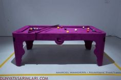 Purple Pool Table for Girls