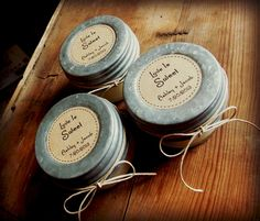 48 (4oz) Rustic Wedding Favors, Soy Candles, Mason Jar Candles, Eco-Friendly Favors