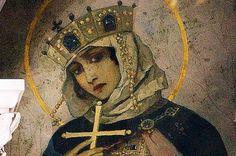 Holy Princess Olga. St. Vladimir's Cathedral in Kyiv. M. Nesterov