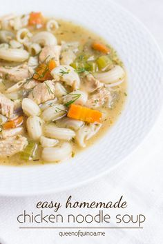 ... on Pinterest | Soups, Chicken noodle soups and Homemade mushroom soup