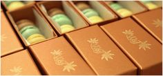limetea design studio - macaron boxes