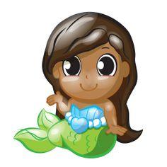 Melinda Shells – Squinkies 'Do Drops Character Common