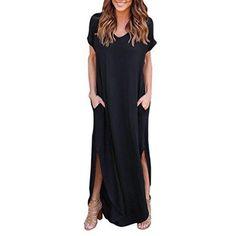 Oferta: 9.95€. Comprar Ofertas de Vestido, Oyedens El verano flojo de la playa del verano del gallus de las mujeres pone en cortocircuito el vestido largo de l barato. ¡Mira las ofertas!