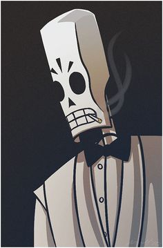 Grim Fandango by OniChild on deviantART