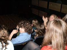 At a screening of The Roman Mysteries season 2, 2008.