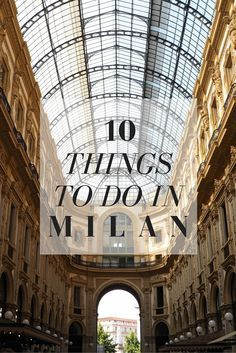 10 Things To Do In Milan, Italy. // Eating Gelato, visiting the Duomo and more things that you should not miss when visiting Milano! Click through to read the whole post! www.girlxdeparture.com