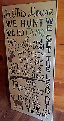 Wooden Decor Signs Hunting Prayer Sign  Random  Pinterest  Rustic Wood Wood Signs