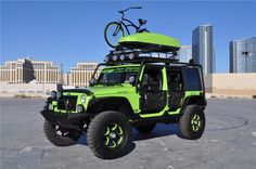 2010 JEEP WRANGLER 4 DOOR CUSTOM SUV - Barrett-Jackson Auction Company - World's Greatest Collector Car Auctions