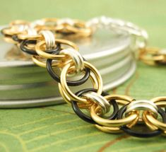 Brass Bracelet Kit ~ Your Pick of 3 Colors by UnkamenSupplies, $20.00