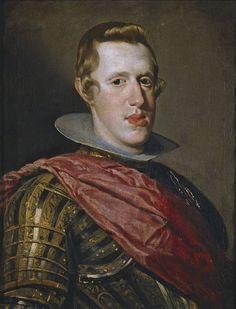Retrato de Felipe IV en armadura, by Diego Velázquez - Felipe IV (Velázquez) - Wikipedia, la enciclopedia libre