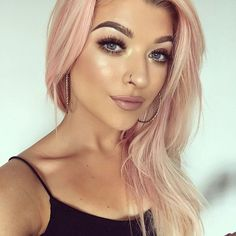 Instagram Rose Gold Hair Color Ideas for 2017 | New Hair Color Ideas & Trends for 2017