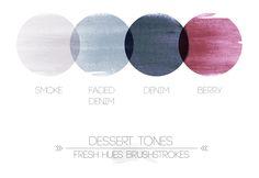 Dessert tones brushstrokes | fresh hues | color + inspiration | Page 6