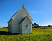 Church - Awhitu Peninsula, Auckland, New Zealand