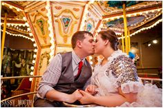 engagments on a mary-go-round? yes please.