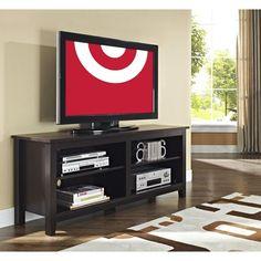"Weathered Wood TV Stand 58"" - Walker Edison : Target"