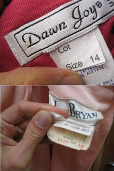 How to tell if it is vintage by the label.