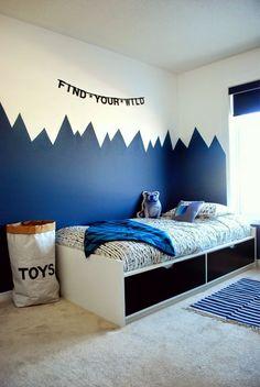 Boy bedroom paint ideas boys bedroom paint ideas paint colors for Teen Boys Room Decor, Cool Bedrooms For Boys, Boys Bedroom Decor, Baby Room Decor, Room Kids, Kids Rooms, Bedroom Colors, Small Rooms, Design Bedroom